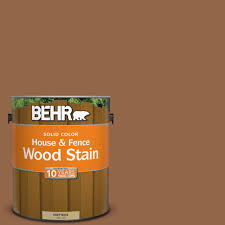 Wood Color Paint Behr 1 Gal Sc 152 Red Cedar Solid Color House And Fence Wood