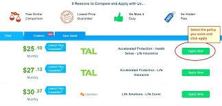 life insurance quote comparison plus copyright life insurance