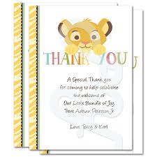 Ideas To Write In A Baby Shower Thank You Card
