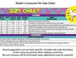 Rubies Size Chart Rubies Costume 4th Of July Collection Pet Costume Patriotic Pooch Girl