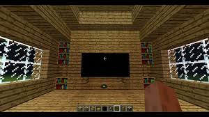 Minecraft How to make a TV YouTube