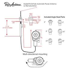 1948 56 ford truck fully automatic power antenna retrosound 1948 56 ford truck fully automatic power antenna retro manufacturing 4