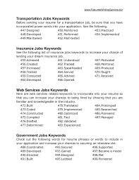 Ultimate Resumes Ultimate List Of 500 Resume Keywords Resume Template 2017 List Of