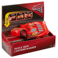 disney pixar cars 3 race reck lightning mcqueen vehicle com