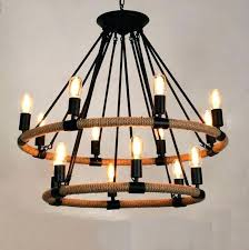 thomas edison chandelier style chandelier retro industrial lamp rope vintage pendant light cafe bar loft in