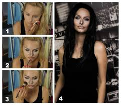 angelina jolie one of my first makeup transformations what should i improve