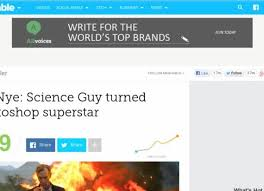 The Internet photoshopped Bill Nye's gritty photo into the best ... via Relatably.com
