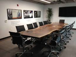 custom office tables. Conference Table And Needless To Say It Ended Up Being The Showstopper That New Building Was Looking For. You Can Read Story Of Tree See Custom Office Tables C