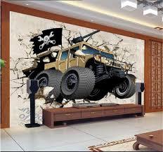Custom 3d Behang Foto Behang Woonkamer Muurschildering Muursticker