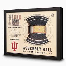 3d Wall Art Assembly Hall 3d Wall Art Indiana University Hoosiers Chicago