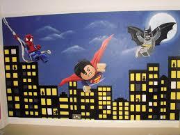 lego superhero wall decals