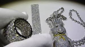 925 silver custom dough boy lab diamond pendant bo lab made jewelry you