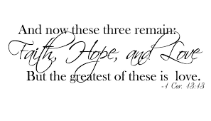 Love And Hope Quotes Interesting Faith Love Hope Quotes Weeklytravelspecials Quotes