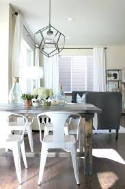 white farmhouse dining table theltco within metal chairs for farmhouse table with metal chairs ideas
