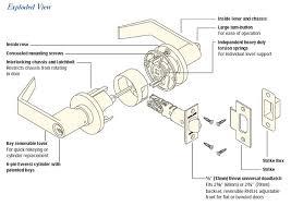 door handle parts diagram. Home Door Lock Parts Diagram Interesting Exterior Backyard In Handle O