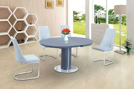 medium size of white extending dining table and grey chairs 4 gloss with 6 round glass