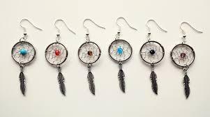 Dream Catcher Earing Dream Catcher Earring Fashion Earrings Handmade DIY Birthday Gift 62