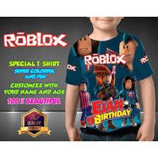 Roblox Custom Clothes Roblox Birthday Shirt Customizable In 2019 Birthday Shirts