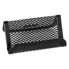 rolodex mesh business card holder capacity 50 2 1 4 x 4 cards black com