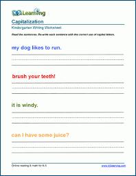 Capital Letters Worksheets For Preschool And Kindergarten