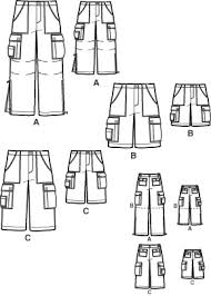 Mens Pants Pattern Impressive Simplicity 48 Men's Cargo Pants