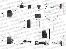 roketa gk 13 electrical parts