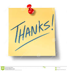 thanks thank you office note stock images image  thanks thank you office note