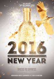 New Year Flyers Template New Year Gold Vol 2 Flyer Template