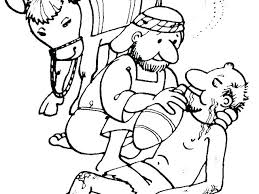 Parable Of The Good Samaritan Coloring Pages Good Coloring Page