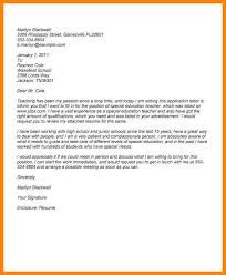 8 Special Education Cover Letter Wsl Loyd