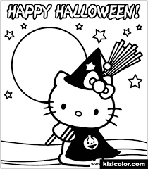 If you print all the coloring pages you can make your own fun hello kitty coloring book, add some stickers and glitters to make your book sparkle. Hello Kitty Happy Halloween Free Printable Coloring Pages For Girls And Boys Page 1