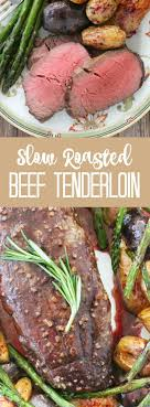 But if you prefer an oil with a higher smoke point, you can use avocado oil instead. Slow Roasted Beef Tenderloin Beef Tenderloin Recipes Slow Roasted Beef Tenderloin Tenderloin Recipes Crockpot