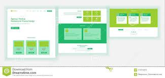 Online Menu Design Software Web Page Design Vector Website Business Concept Shopping
