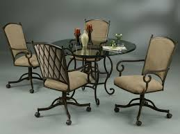 dining room table and chairs with wheels. full size of chairs:rolling chairs dining room table and with wheels awesome atrium