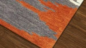 gray and orange area rug burnt target accent rugs reg fritz inside grey
