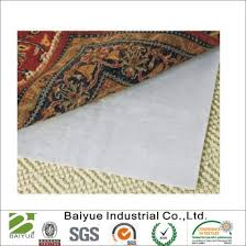 6 x 9 rug pad for area rugs over carpet