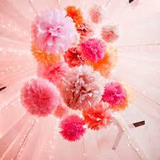 Decorative Tissue Paper Balls Unique 32pc 32 Inch32cm Decorative Tissue Paper Pom Poms Flower Ball