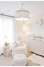 Nursery Lighting Ideas Jillian Harriss All White Nursery Is Pure Perfection