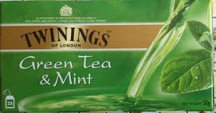calories in twinings mint green tea