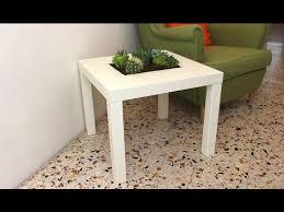 Planter coffee table Furniture Ikea Lack Table Planter Youtube Ikea Lack Table Planter Youtube
