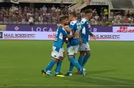 Serie A 2019/20, Napoli-Fiorentina, risultato
