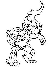 Images Of Luxray Pokemon Coloring Pages Rock Cafe