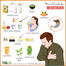 home remes for heartburn top 10