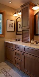 bathroom counter storage tower. bathroom double sinks with tower storage - google search counter