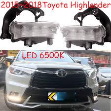 2017 Highlander Fog Light Us 68 0 Highlander Daytime Light 2015 2017 Free Ship Led Highlander Fog Light High Lander Steering Wheel Car Covers Highlander In Car Light Assembly