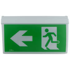 Exit Sign Lighting Requirements Led Wide Body Emergency Exit Light Martec Led Lighting