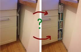 gap between walls