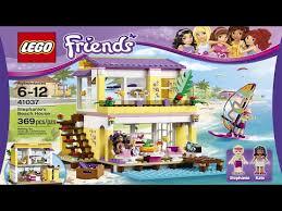 <b>LEGO Friends</b> 41037 Пляжный домик Стефани: Купить в Москве ...
