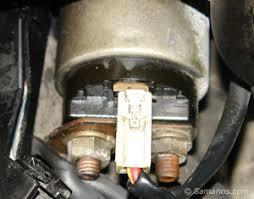 starter motor starting system starter solenoid