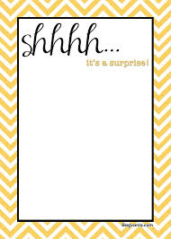 Free Printable Surprise Birthday Invitations Bagvania Free